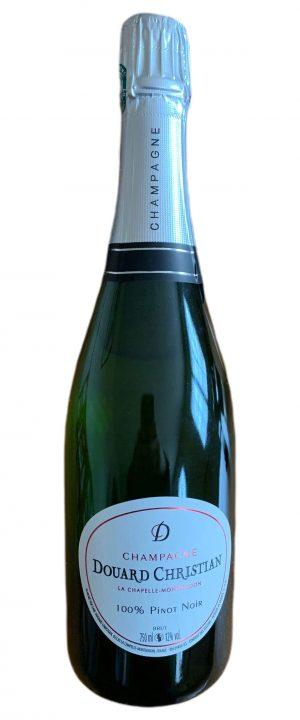 Bouteille de Champagne Pinot Noir - Champagne Douard